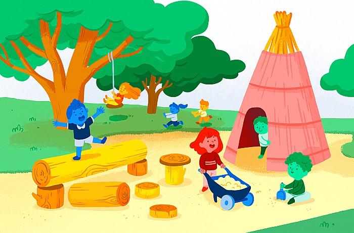 Imágen del curso El patio como espacio de aprendizaje