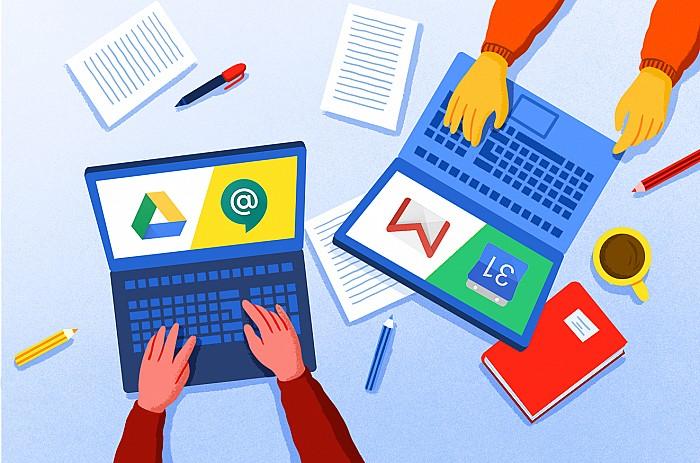 Imágen del curso Primer contacto con las herramientas G Suite for Education aplicadas en el aula