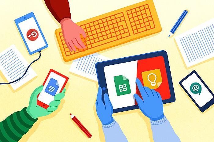 Imágen del curso Progresar en el trabajo con las herramientas G Suite for Education aplicadas en el aula