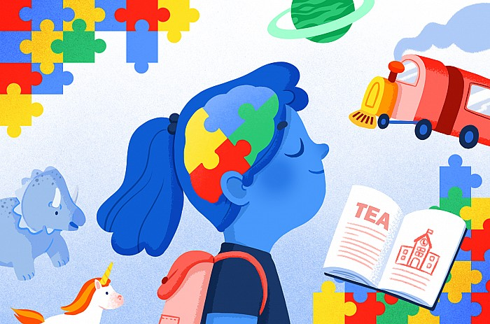 Imágen del curso Respuesta educativa al alumnado con trastorno del espectro autista (TEA)