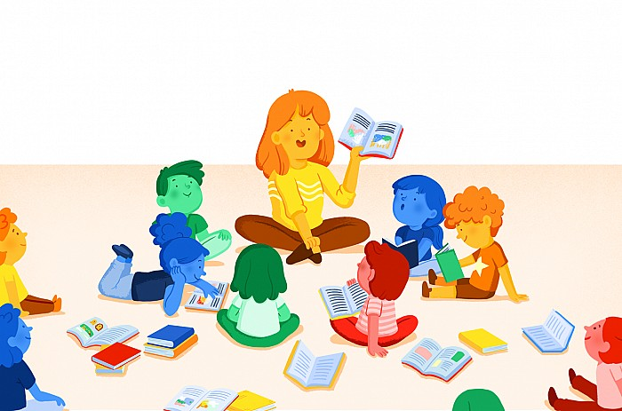 Imágen del curso Biblioteca escolar y animación de la lectura